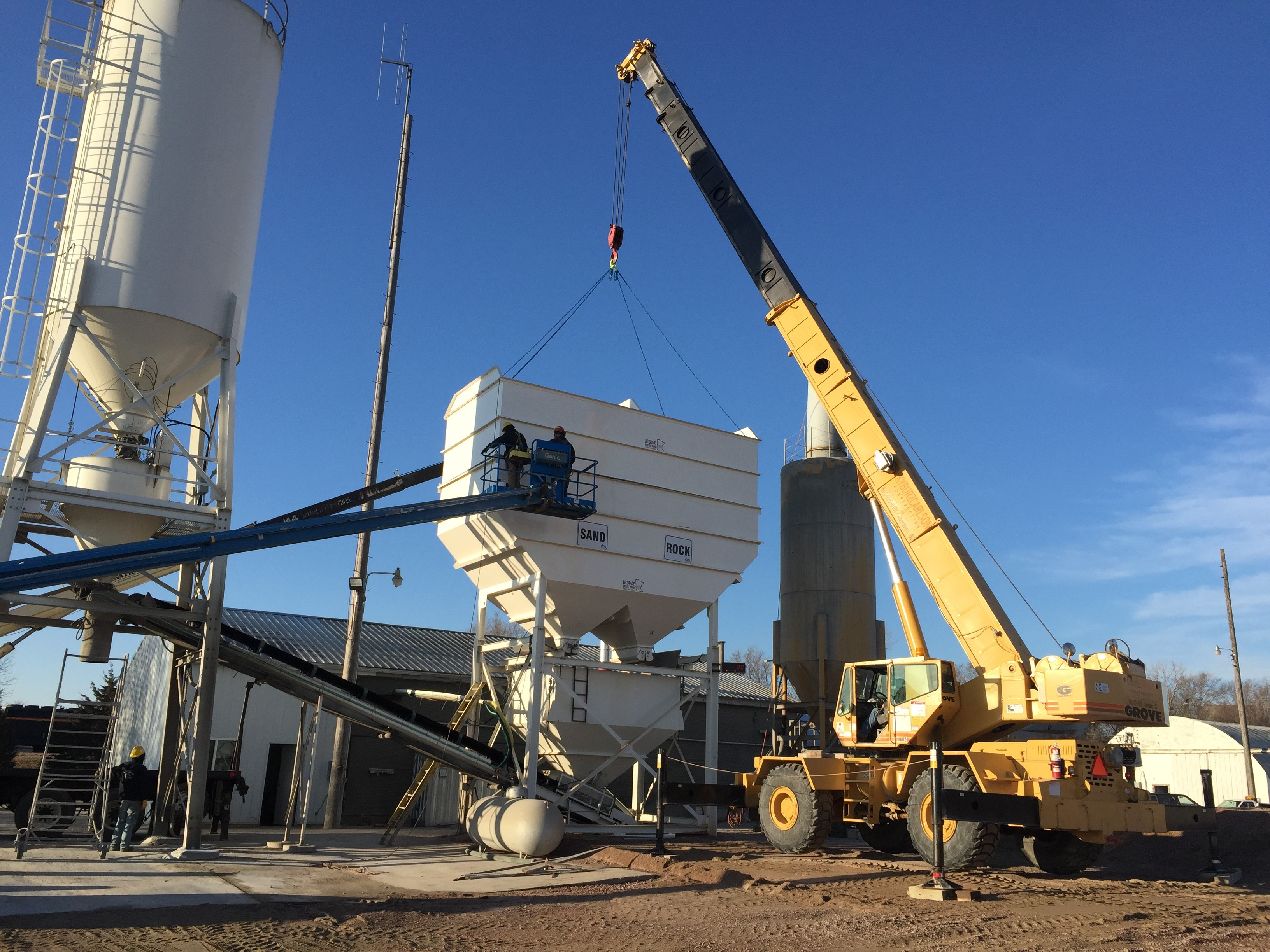 Dells Materials recently Underwent an Expansion to the Local Plant